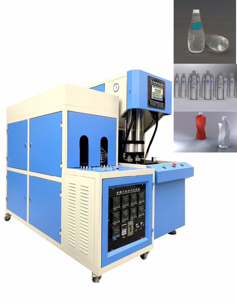 100ml to 3000ml semi auto stretch blowing molding machine water pet bottle blow machine prices