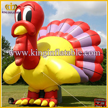 Festival item giant inflatable animal turkey model inflatable advertising animal