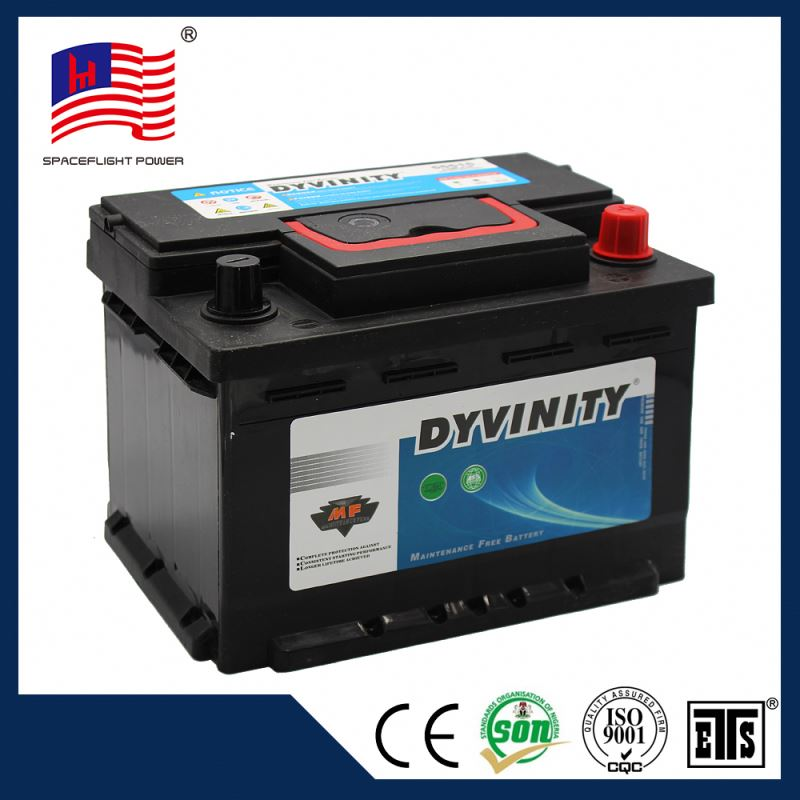 55515 DIN series 12V55AH maintenance free automotive car battery