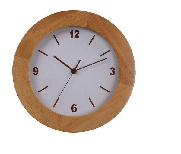 Cheapest hotsell creative style classical made in china wooden wall clock big size