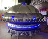 Led Inflatable Alien Spaceship for Decoration