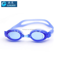 Blue color PC lens Anti-fog adult swim goggle protective safety goggles