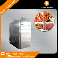Electirc type and Steam type sausage smoke oven for meat factory meat smoking machine commercial smokehouse Tel008613028676303