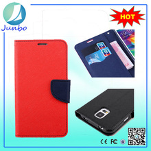 Newly Flip PU Leather Case For Samsung Galaxy Note 4