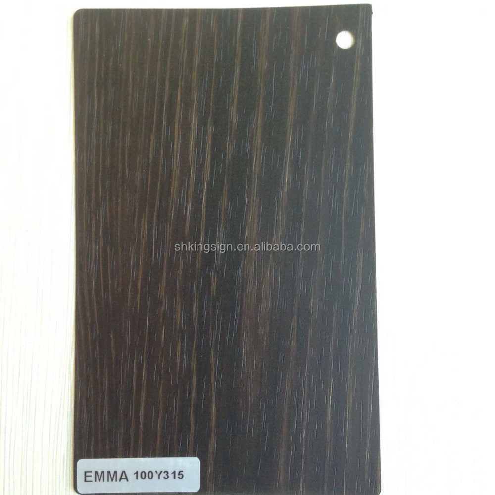 hot newest wood grain lamination PVC rigid film