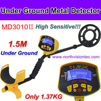 1.5 meters underground gold detector with LCD screen display, easy operation