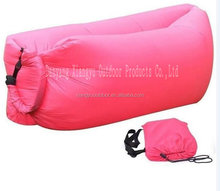 Nylon sleeping bag air sleeping sofa beds for outdoor camping