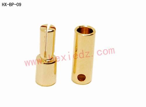 3.5mm Gold-Plated Bullet Banana Plug Motor ESC Connector