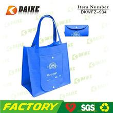 Eco Non Woven Foldable Shopping Bag In Pouch DKWFZ-934