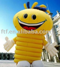 2013 new style advertising/promotion 2m H PVC inflatable bee cartoon