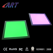 Factory patent product led 600x600 rgbw ceiling panel light color changing dimmable 600*600*10mm