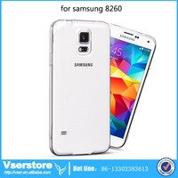 clear plastic phone case for samsung Galaxy Core Duos I8262 I8260 clear hard case ultra-thin clear case for samsung