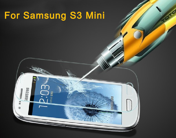 Premium Tempered Glass Screen Protector Protective Film For Samsung Galaxy S3 Mini i8190 screen protector