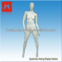 Glossy fashion mannequin jewellery holder