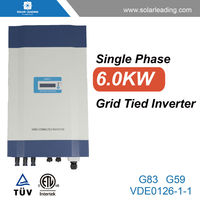 High efficiency single phase micro grid tie inverter connect to poly pv solar panel for residential solar energy systems