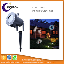 Wholesale high quality latest Deco outdoor garden landscape lighting shower Christmas glow bright laser spot light