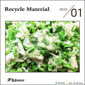 Rubber recycle material
