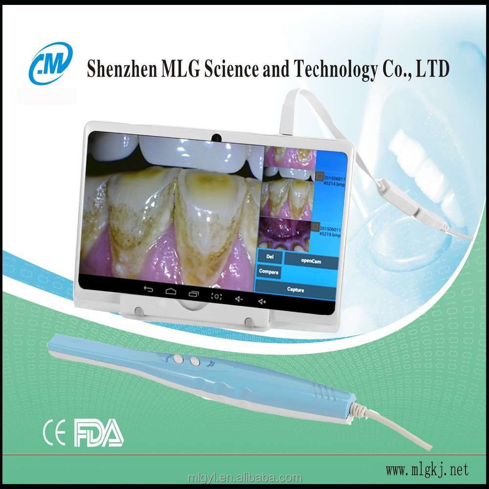 MLG company CF-688A 7 inch tablet with USB+OTG dental camera for android phone and Android Tablet dental instruments