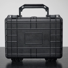 Military waterproof instrument and equipment storage case hard plastic carrying tool case with foam