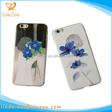 Accessories phone mobile cover 2017 fancy literature girl flower design innovative mobile phone accessories case