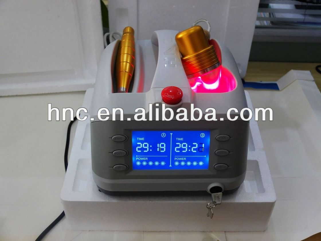 acupuncture laser machine handy device knee pain relief athletic equipment arthritis equipment 2013 new invention products