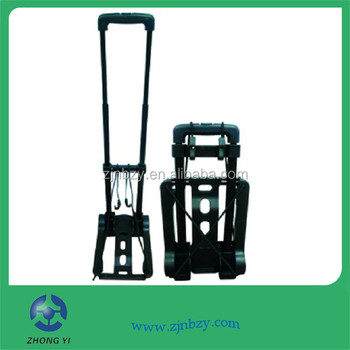 plastic folding luggage carrier