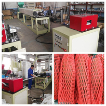 Good quality apples packaging foam net making machine paypal accept
