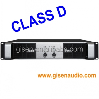class D power amplifier D215 (2x1500w amplifier)