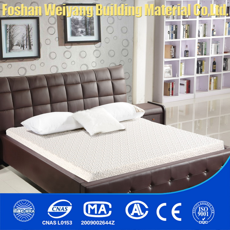 WY03-SQ Waterproof mattress protector knitted fabric which is memory foam mattress