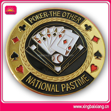 wholesale toy gold coin inlay poker chips,metal poker coin