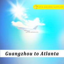 One stop air cargo rate from Guangzhou China to Atlanta USA