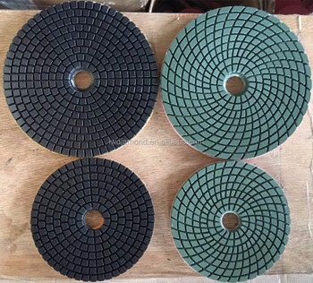 Diamond tools dry/ wet polishing pads for concrete, granite, marble