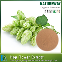 100% natural hops extract powder,5% xanthohumol from hops extract