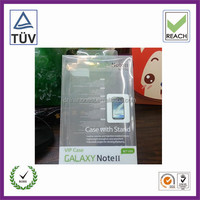 cellphone case pvc transparent box for galaxy note