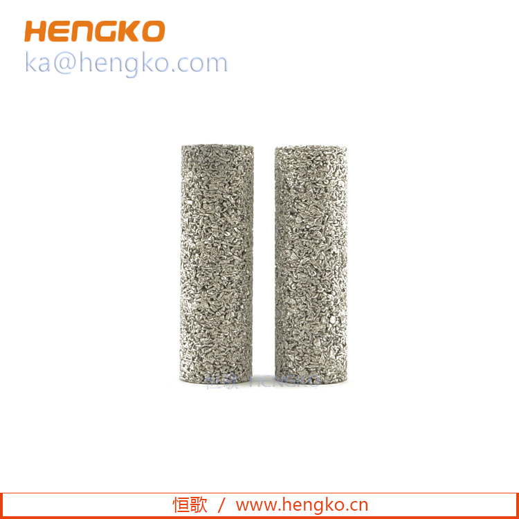 Custom 0.2 um 5 7 10 60 microns 316L porous SS sintered stainless steel filters