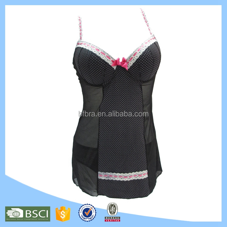 Wholesale custom lingerie unique sexy girls babydoll