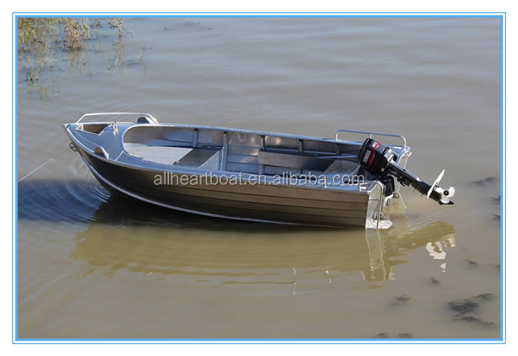 13ft dingy welded aluminum fishing boat
