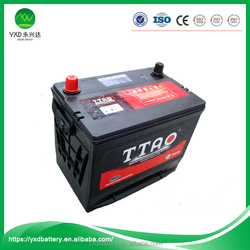 Wholesale rechargeable valve regulated 12v car auto charger battery