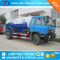 euro 3 10000kg sludge tank truck with pictrues