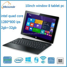 high quality low price brand new 10 inch windows 8 Intel tablet pc laptop mini laptop