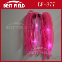 Flashing Crazy Hair LED Light Up Dreadlock flashing Noodle Wig