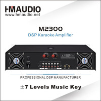 M2300 professional digital echo mixer professional power amplifier hot sale