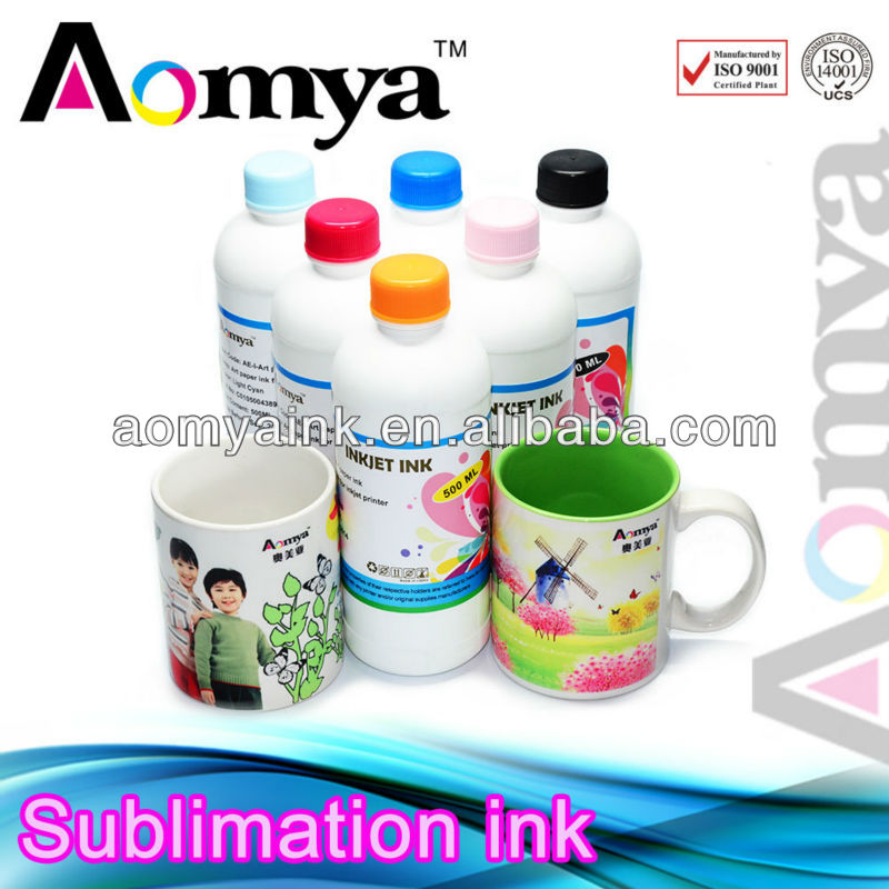 Zhuhai Aomya Compatible For Epson Roland Mimaki Mutoh Piezo Print Head Printers Dye Sublimation Ink