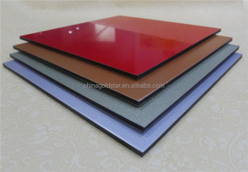3mm*0.21mm Highlight ACM ACP High gloss alucobond hot sale in Brazil