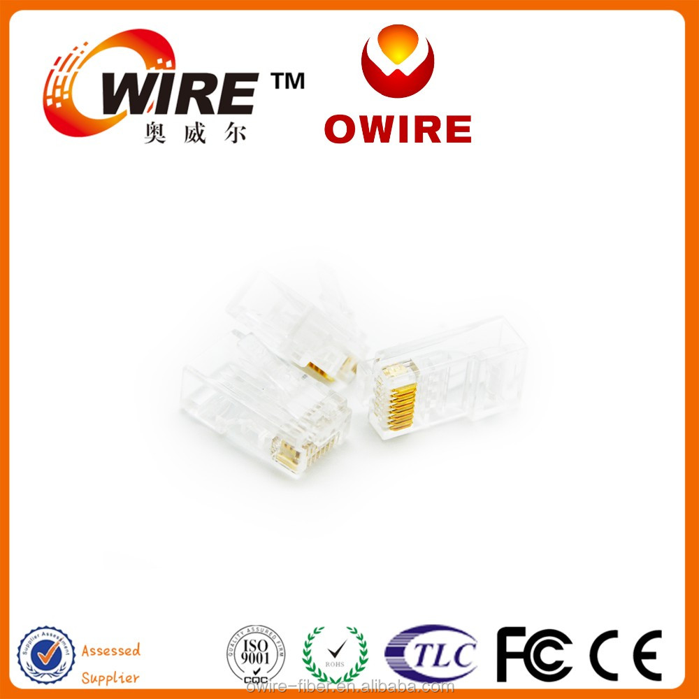 owire brand hot sale factory price systimax rj45 cat6 modular jack network lan cable with CE UL Certificated