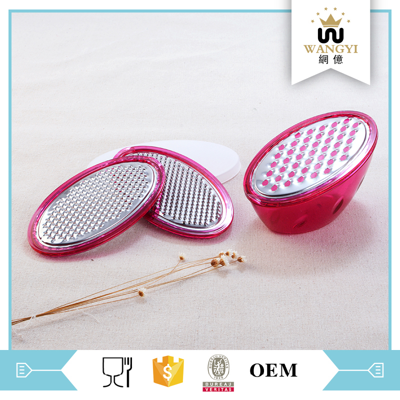 Heat popular food grade manual industrial cheese grater with egg shape