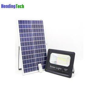 High power 200w led solar flood light for outdoor activity lighting