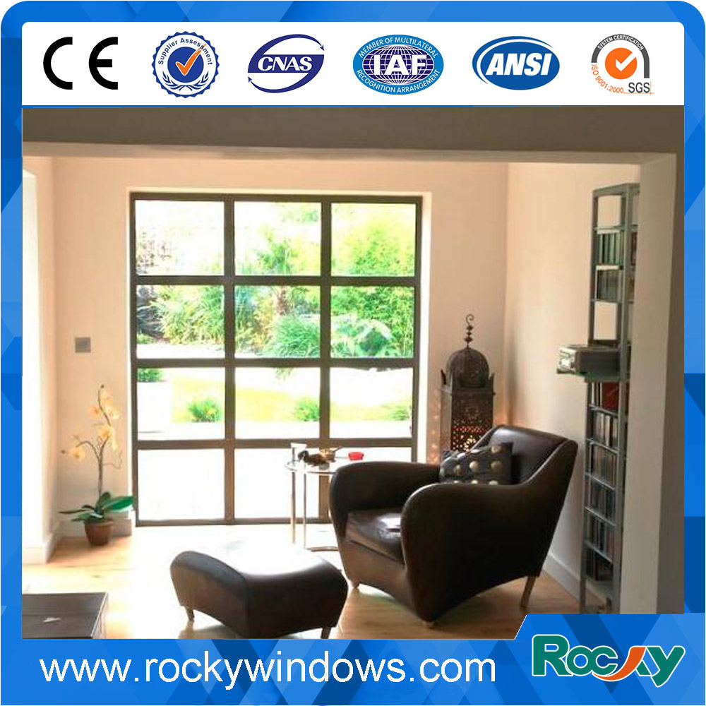 Popular Aluminum Frame Fixed Panel Window