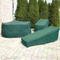 WOODSIDE LARGE GARDEN PATIO SET COVER WATERPROOF FURNITURE TABLE CHAIR COVER