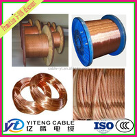 china wholesale 16/ 22/ 24/ 28/ 40/ 42/ 43 awg gauge bare copper wire